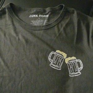 NWOT Junk Food Support Your Local Dive Bar Tee